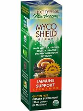 Fungi Perfecti Host Defense, MycoShield Spray Cinnamon 2 oz, Immune Support