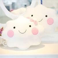 Cute Cloud Shape Pillow Cushion Soft Stuffed Plush Doll Sofa Home Decor GsTt
