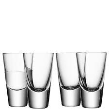 barra de LSA Vodka Cristal - Transparente - Juego de 4