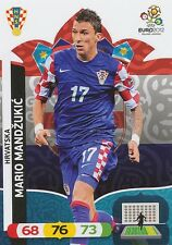 MARIO MANDZUKIC # HRVATSKA CROATIA CARD PANINI ADRENALYN EURO 2012