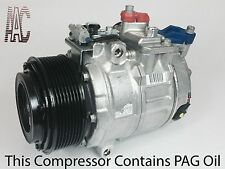 2011 2012 2013 BMW X5 A/C COMPRESSOR W/ONE YEAR WARRANTY.
