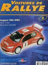 ALTAYA VOITURES DE RALLYE DE COLLECTION FASCICULE 2 PEUGEOT 206 WRC