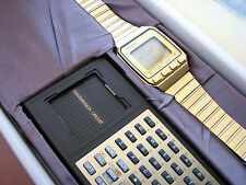 RARE Vintage 1984 SEIKO UW02 LCD Digital calculator computer watch with keyboard