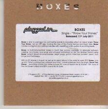 (CN539) Boxes, Throw Your Stones - 2011 DJ CD