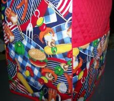 Picnic BBQ Chef Quilted Cover for KitchenAid Mixer NEW