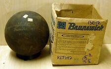 15# 3oz NIB Brunswick USA 1977 LT-48 Johnny Petraglia RUBBER Bowling Ball KLT242