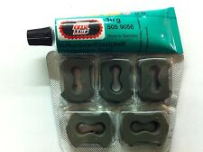5 X Reemplazo Tapones & Pegamento neumático Puncture Repair Kit De Auto Moto Motocicleta Quad
