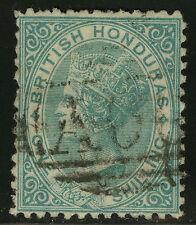 British Honduras  1872   Scott # 7  USED