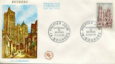 FRANCE FDC - 541 1453 1 CATHEDRALE DE BOURGES - 5 Juin 1965 - LUXE