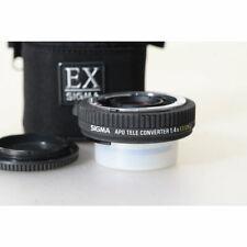 Sigma APO Telekonverter 1.4x EX DG für Nikon - Teleconverter - Konverter 4002081