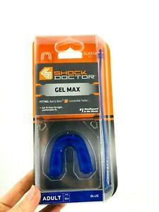 Shock Doctor Gel Max Adult Convertible Tether Classic Fit Blue NEW
