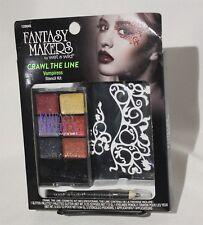 Spirit Halloween Vampiress Makeup Kit Wet N Wild Crawl The Line