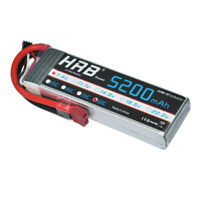 HRB 2S 7.4V 5200mAh 50C 7.4V Lipo Battery T Plug For RC Car Drone AU Stock