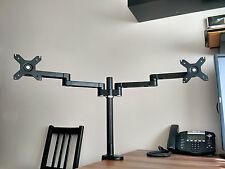 Dual Monitor table desk Stand VESA 75 100