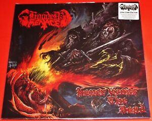 Hooded Menace: Never Cross The Dead 2 LP Red Color Vinyl Record Set 2020 EU NEW