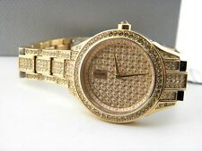 Jennifer Lopez JLO Crystal Bracelet Watch FMDJL308 NEW IN BOX $275