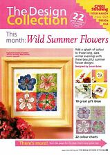 DESIGN COLLECTION: Wild Summer Flowes Cross Stitch pattern from magazine