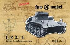 FPW Model German tank Leichte Kampfwagen Ausland (L.K.A. 1) - resin 1/72 [72002]