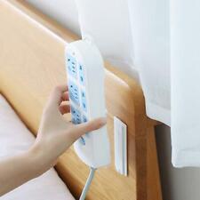Wall-Mount Power Strip Holder Seamless Sticker Self-Adhesive Home Plug Rack Tool