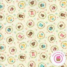 HOME SWEET HOME Cream Bears 20573 11 Stacy Hsu Moda QUILT FABRIC Goldilocks 3