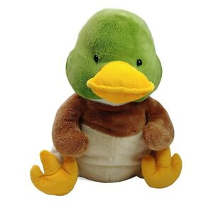 Russ Berrie Duck Dookie  Plush Soft Stuffed Animal Toy Washed & Clean 35cm