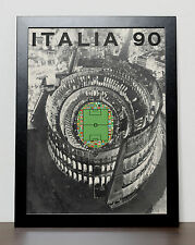 World Cup 1990 Poster, Italia 90, ITALY 1990 (FREE Postage)