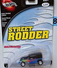 HOT WHEELS 100%  STREET RODDER MIDNIGHT OTTO #2/4 BLUE W+