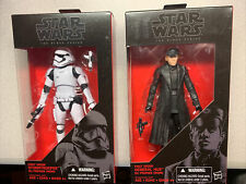 Star Wars Black Series General Hux & Stormtrooper First Order LOT NIB 04 13