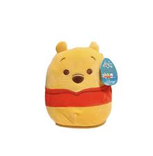 "Squishmallows Kellytoy 2021 Disney 12"" Winnie the Pooh Bear Plush Doll Toy"