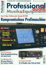 Professional Audio Musik & Equipment 2010/12
