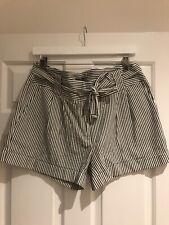 Pantalones Cortos Con Cinturón De Banda Oasis-tamaño 14