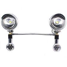 Custom LED Turn Signal Driving Spot light Bar Bike Motorcycle Touring Chopper