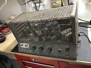 Vintage RCA MI-12224-A Tube Amplifier Project