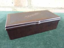 Nice vintage Art Deco Style Bakelite Cigarette box hinged lid