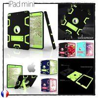 Etui Coque Housse Armor Defender Antichocs Kickstand Cover Case iPad Mini 4