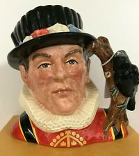 LARGE ROYAL DOULTON CHARACTER JUG THE YEOMAN OF THE GUARD D6873 *EXCELLENT COND*