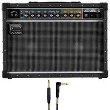 Roland JC-40 Jazz Chorus Guitar Amplifier with 10' Mogami Cable +Picks