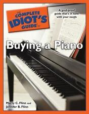 THE COMPLETE IDIOT'S GUIDE TO BUYING A PIANO NEW! BOOK