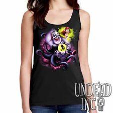 Disney Villains Ursula The Little Mermaid Ariel  - Ladies Ladies Tank Top