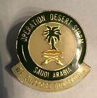 Vintage Operation Desert Storm Saudi Arabia Pin
