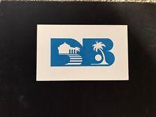 Vintage Long Beach CA Hand Painted Silk Screen Logo Sign by Joanne Tripp-Putman