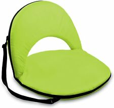 ONIVA PICNIC TIME PORTABLE RECLINING FOLDING BEACH CAMPING CHAIR SEAT LIME GREEN