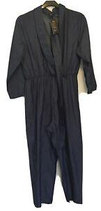 Vonda Ladies Blue Jumpsuit XL