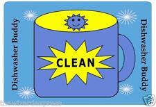 Dishwasher Sign Set Clean and Dirty Magnetic Dishwasher Sign Set (Reversible)