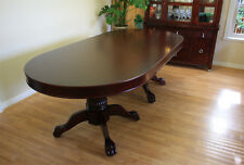 "94"" Solid Wood Poker Table plus Dining Cover MRC Poker Tables The Monarch"