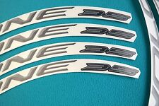 CAMPAGNOLO BORA ONE 35 DARK 3D DESIGN REPLACEMENT RIM DECAL SET FOR 2 RIMS