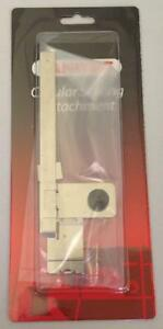 NEW JANOME CIRCULAR ATTACHMENT FOR SEWING CIRCLES ONE
