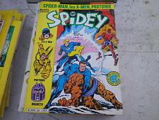 SPIDEY n° 24 très bon état, comme neuf. Le journal de SPIDER MAN de 1982
