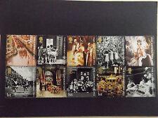 GB MNH STAMP SET 2003 50th Anniversary of Coronation SG 2368- 2377 UMM