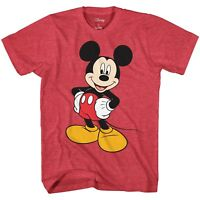 Mickey Mouse Graphic Tee Classic Vintage Disneyland World Mens Adult T-Shirt
